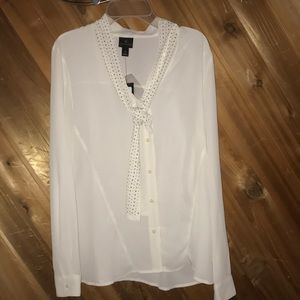 Worth i from Sheer White Blouse